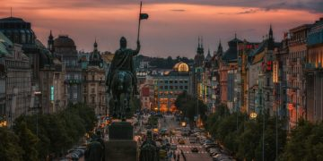 Prague Czech Republic Houses Monuments Evening 526340 2048x1152 360x180 - 20 интересных фактов о Праге