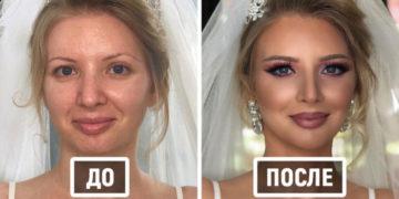 vayvpvyp 700x366 360x180 - Визажист показывает фотографии невест до и после того, как они побывали в его волшебных руках