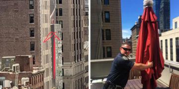 2 16 700x366 360x180 - Девушка вызвала 911 из-за женщины на крыше, но спасать никого не пришлось. «Женщину» видели многие
