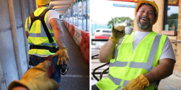 2 9 700x366 360x180 - Простой строитель и весёлый папаша из Техаса пародировал типичные фото из Инстаграма и стал звездой