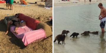 3 3 700x366 360x180 - 17 фотографий странных и забавных вещей, которые люди замечали на пляжах