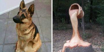 5 11 700x366 360x180 - 15 невероятных деревянных скульптур, которые поражают воображение