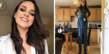 cvfayaypchvrsaoiltdyu 700x366 360x180 - Англичанка неудачно заказала джинсы в онлайн-магазине, ведь ей пришли штаны, достойные Гулливера
