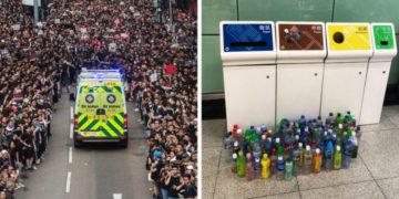 fyvayfvay 700x366 360x180 - 15 снимков с акции протеста в Гонконге, которые показывают дисциплину и уважение демонстрантов