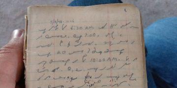 grandpa soldier ww2 diary shorthand translation 1 5ca495010fdc5  700 360x180 - Парень опубликовал загадочное письмо своего деда «на эльфийском». Пользователи помогли его прочесть