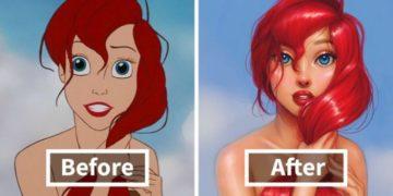 repainted disney princesses isabelle 681x358 360x180 - Иллюстратор создает реалистичных диснеевских принцесс