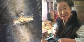 sub buzz 717 1513700830 7 360x180 - Бабушке не понравились «рваные» джинсы внучки, и она решила их переделать. Теперь они обе знамениты