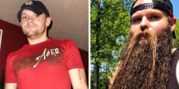 waefzsrgxhcfyjgvkhbljk 700x366 360x180 - Американец хотел бороду, чтобы быть пиратом. Но переборщил, и теперь у него Бородища с большой буквы