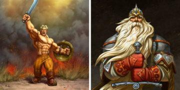 yvayvfayfva 700x366 360x180 - Художник из Барнаула представил русских богатырей в новых брутальных образах