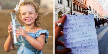 2 1 700x366 360x180 - Девочка бросила в море бутылку с письмом в Испании и вряд ли ожидала, что ей ответят. Из Москвы