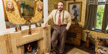 4fd2586a00000578 6142431 image a 6 1536312907377 800x533 360x180 - Назад в прошлое: британец трансформировал свой дом в стиле 1930-х годов