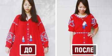 6 5 700x366 360x180 - Мама перешивает старую бесформенную одежду, превращая её в стильные вещи для себя и своих детей