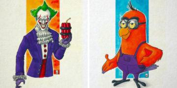 ayvpyvapvp 700x366 360x180 - Художница из Франции соединяет двух известных персонажей в одного, создавая крутые гибриды