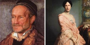 cfuyaykvcherasnopmglrishdoshhzhl 700x366 360x180 - 17 картин прошлого, героев которых художники заменили на знаменитостей