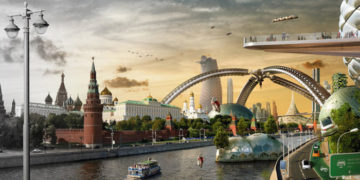 fukyaykchvesarnopmglrido 700x366 360x180 - Художники создали серию работ, в которых показали сразу прошлое, настоящее и будущее мировых столиц