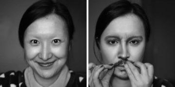 pavpvpyv 700x366 360x180 - Эта художница из Китая показала, как за 10 шагов с помощью макияжа стать копией Джонни Деппа