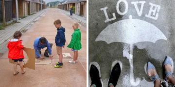 prpravprar 700x366 360x180 - Художник оставляет невидимые рисунки на асфальте. Узнать, что там скрывается, можно лишь после дождя