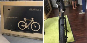 vel3 700x366 360x180 - Фирма придумала, как спасти велосипеды от поломки при доставке. Теперь курьеры думают, что это телек