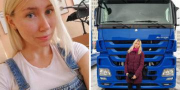 ypvapvap 700x366 360x180 - Девушка из Белоруссии рассказывает в своём Инстаграме, как осуществить мечту и стать дальнобойщицей