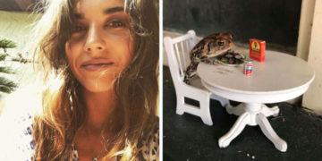 yvaya 700x366 360x180 - Девушка завела себе жабу и подарила ей такую жизнь, о которой некоторые люди лишь мечтают