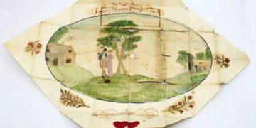 1 16 700x366 360x180 - Британка перебирала вещи бабушки и нашла валентинку 19 века. За ней скрывалась трагичная история