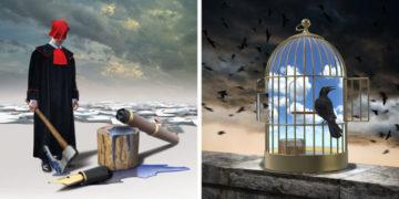 1568299941 3be28e7e34502e1de50c788b81155609 700x366 360x180 - Польский художник рисует острые карикатуры, которые не теряют свою злободневность и в других странах