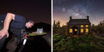 1570432382 19507d98c958d63380a1557b25c47186 700x366 360x180 - Фотограф снимает игрушечные домики на фоне звёздного неба, и его работы — просто космос