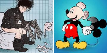 1572957588 f93c0153a99bb861ebac91addf78d370 700x366 360x180 - 25 иллюстраций, которые раскрывают маленькие секреты героев популярных кино и мультфильмов
