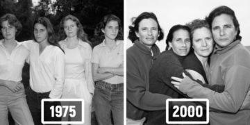 1573223651 fe826bfef11d30c904dfff28cd4666b7 700x366 360x180 - Фотограф каждый год снимал четырёх сестёр и показал, как они менялись на протяжении 40 лет