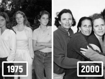 1573223651 fe826bfef11d30c904dfff28cd4666b7 700x366 360x270 - Фотограф каждый год снимал четырёх сестёр и показал, как они менялись на протяжении 40 лет