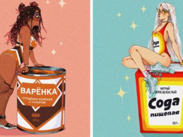 1575980888 2682c3176813209959bcdaa338208531 700x366 360x270 - Художница из России представила, как выглядели бы знакомые с детства продукты, будь они людьми