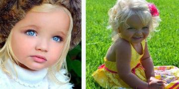 """2 360x180 - В свои 2 года девочка была похожа на куклу """"барби"""". Как изменилась её внешность через 10 лет"""