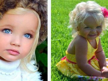 """2 360x270 - В свои 2 года девочка была похожа на куклу """"барби"""". Как изменилась её внешность через 10 лет"""